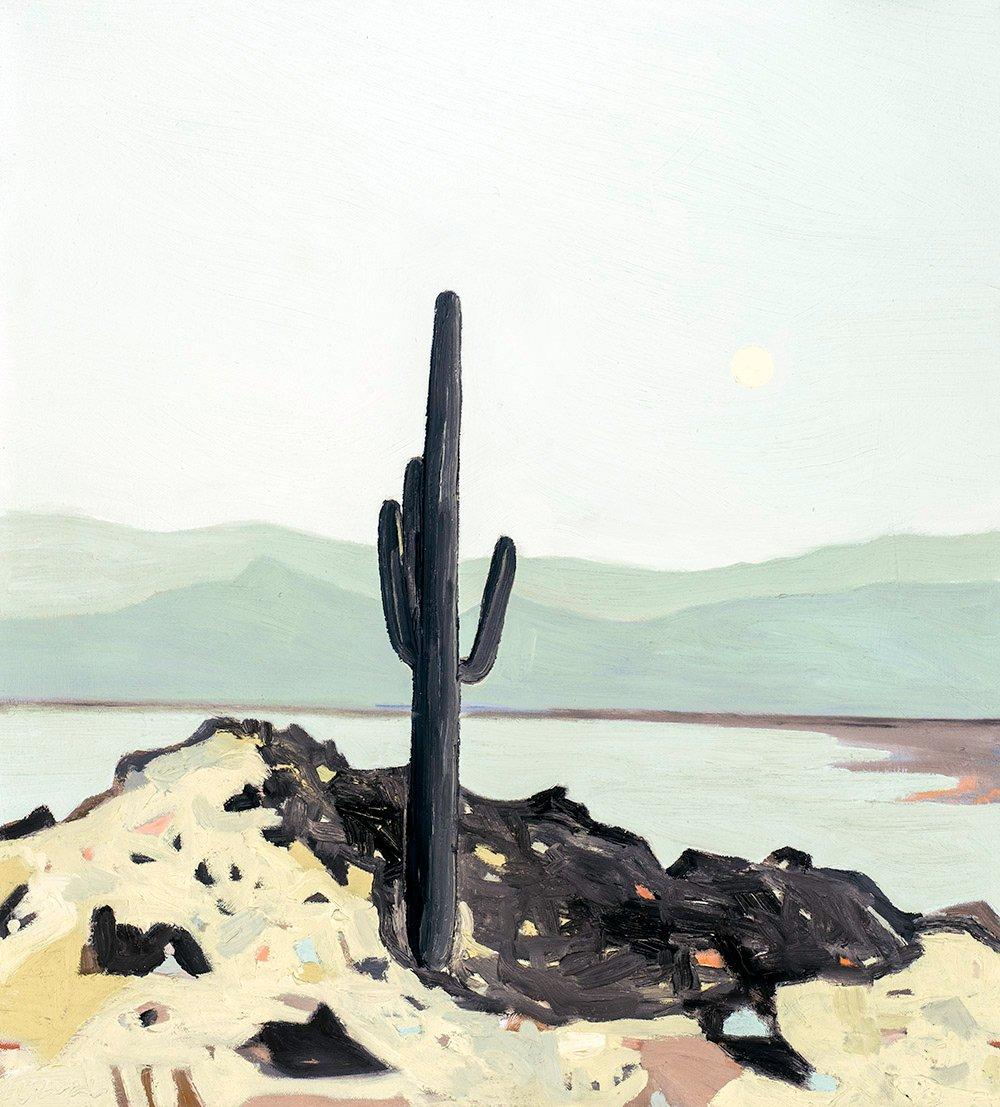 Image of Borderlands #10 - Original (Framed)