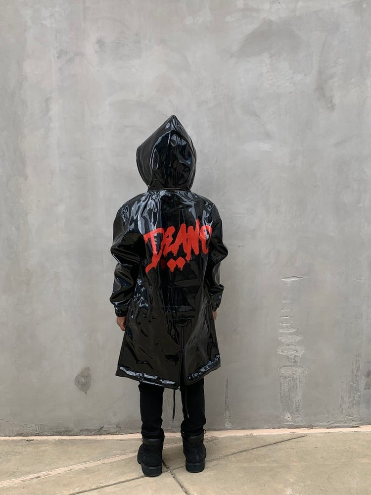 Image of Kids Bad Texter Latex Jacket