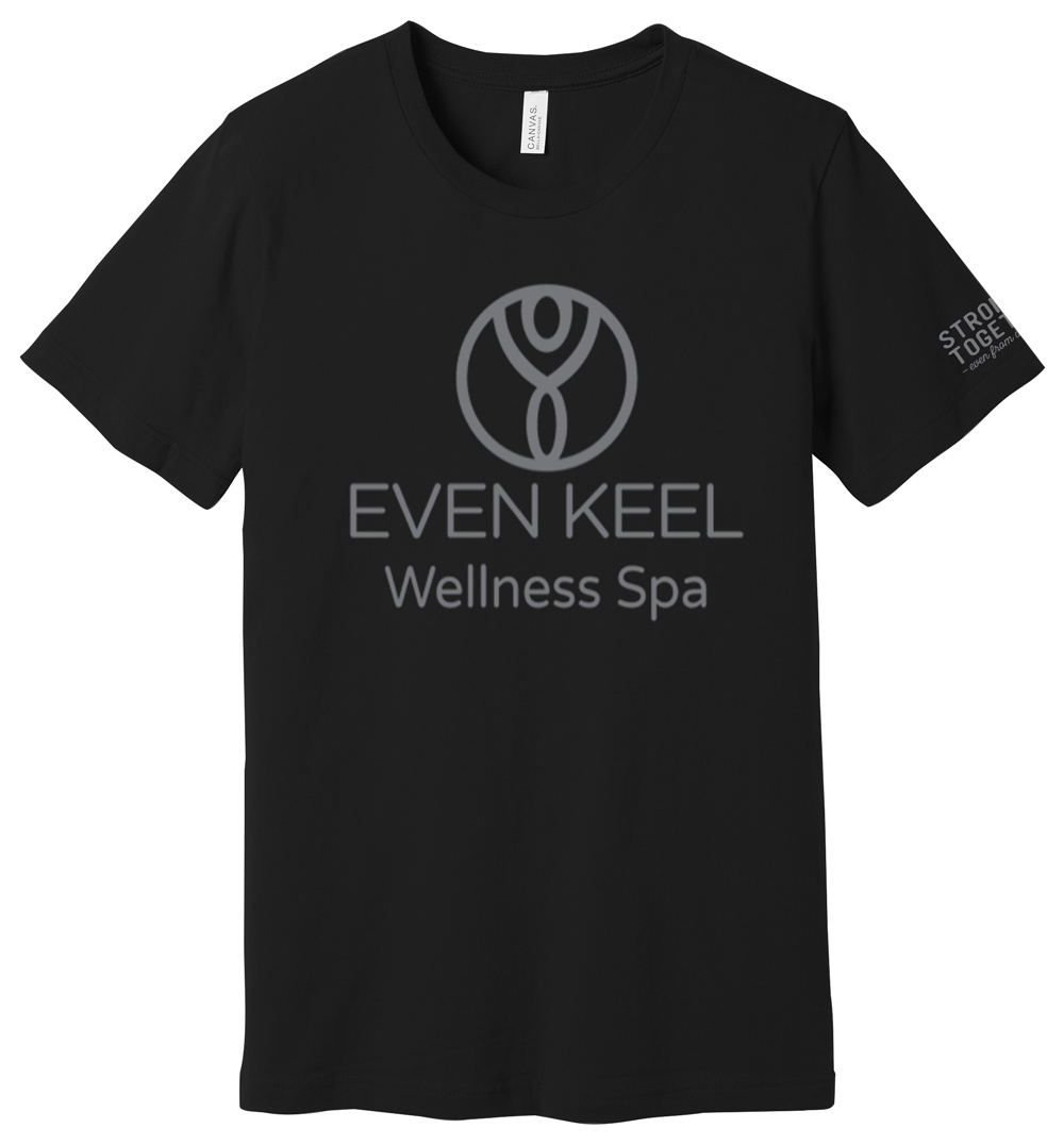 "Even Keel Wellness Spa ""Stronger Together"" Tee"