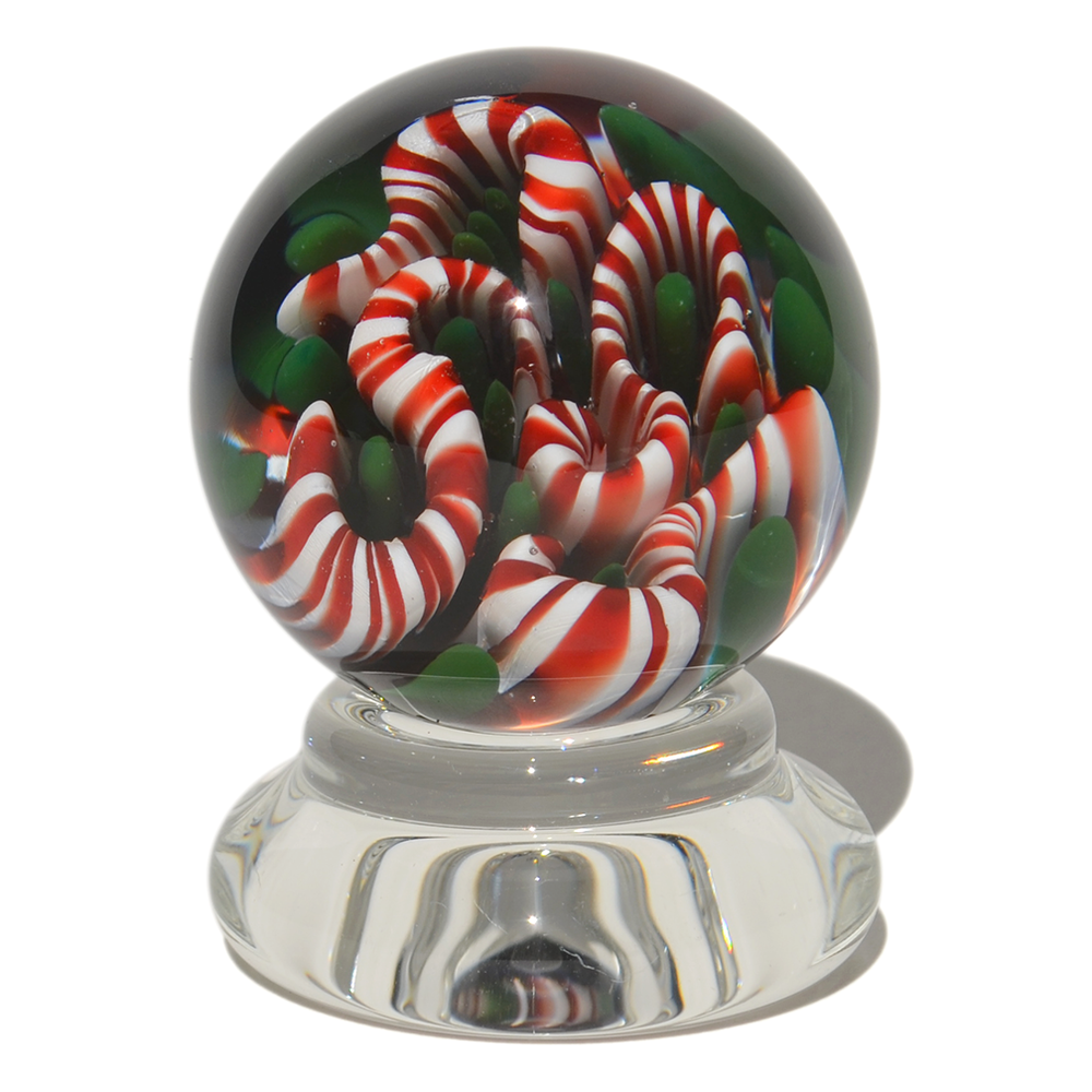 Image of 32mm Christmas Implosion Marble