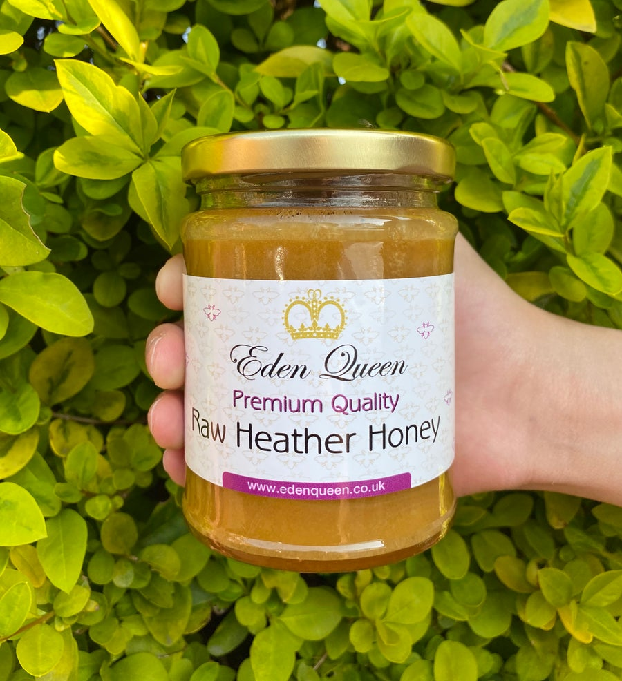 Image of Limited Edition Raw Heather Honey (340 grams)