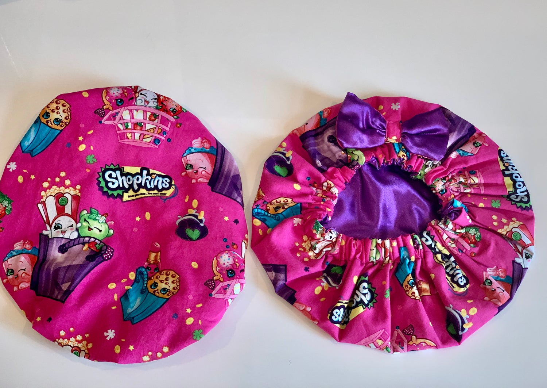 Image of Shopkins Kids Bonnet (pink/purple)