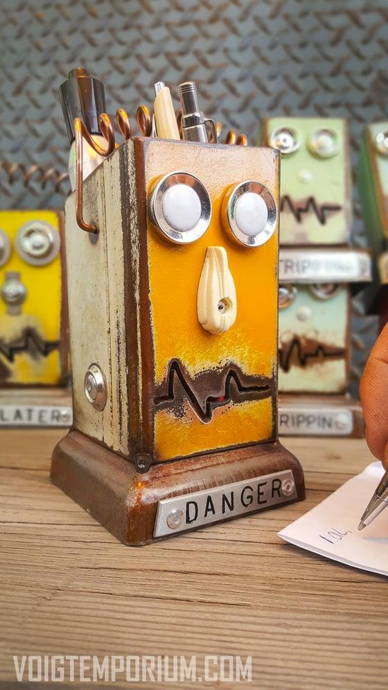 Image of Arizona Desk organizer/Large: Retro DANGER Highway Robot
