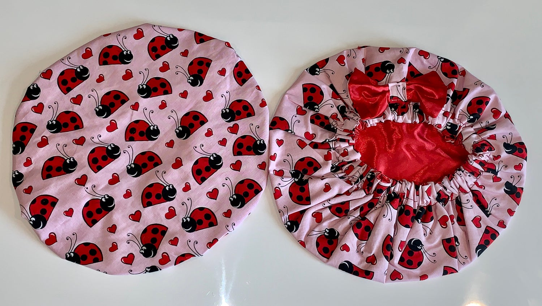 Image of Lovely LADYBUG  Kids bonnet
