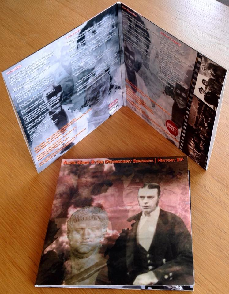 "T&M 036 - Alvin Gibbs & The Disobedient Servants - History EP (DOUBLE 7"" GATEFOLD SLEEVE)"