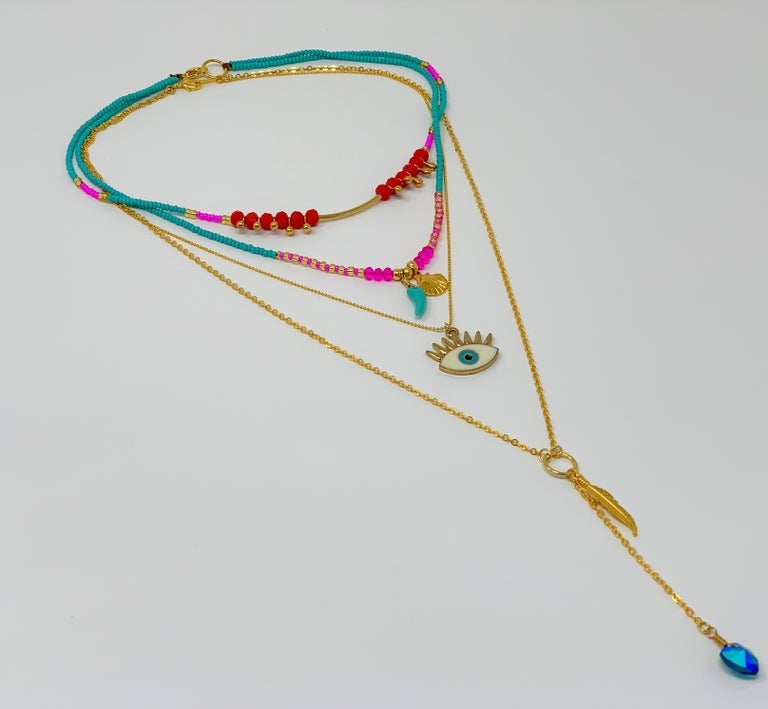 Image of Hello I See You Necklace