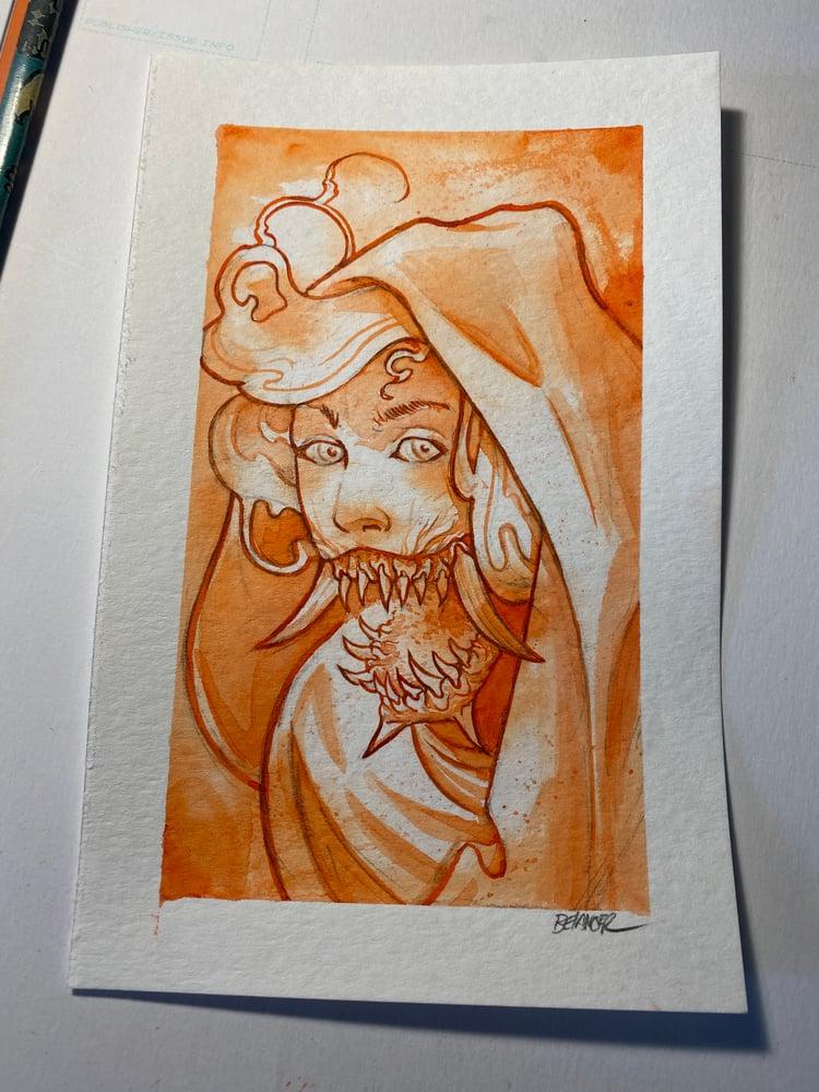 Image of Original Water Color Sketches