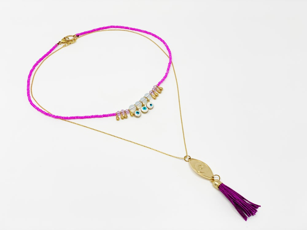 Image of Look Me In The Eye Necklace