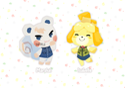 "2.5"" Animal Crossing Charms"