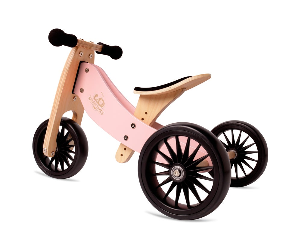 Image of 2-in-1 Tiny Tot PLUS Tricycle & Balance Bike Rose, NEW STOCK JUNE 1ST