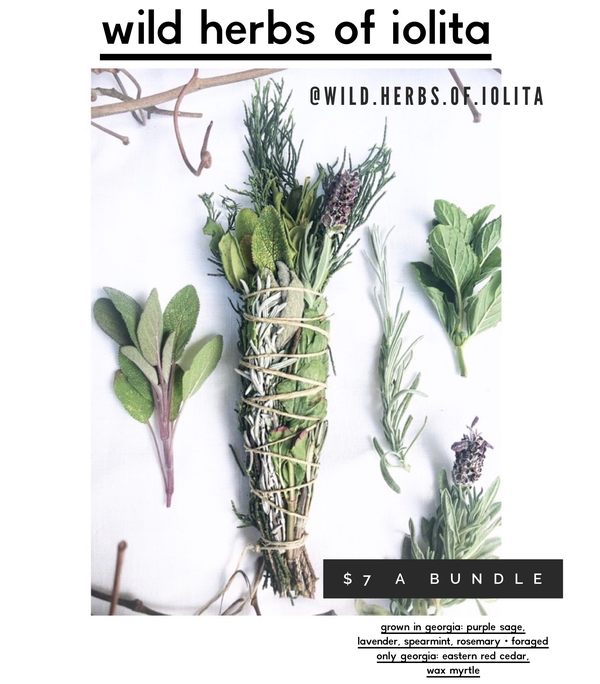 Image of Wild Herbs of Iolita Smudge Sticks - PREORDER