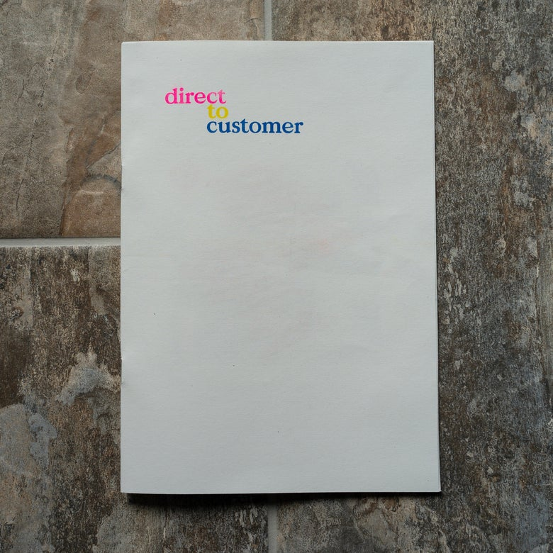 Image of Arnox Zine 1.5 -  'Direct to Customer'