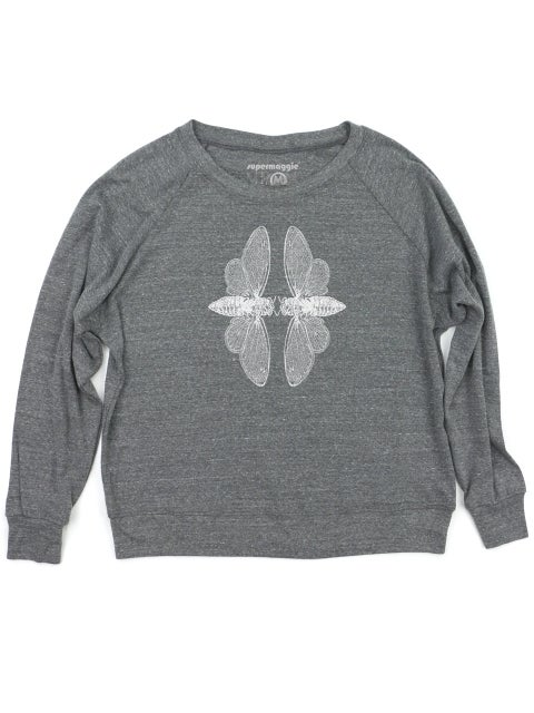 Image of Cicadas Pullover - heather grey