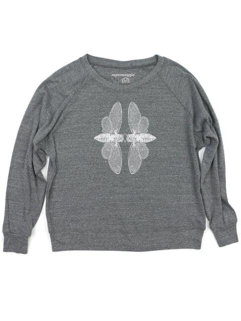 Image of Cicadas Pullover - heather grey
