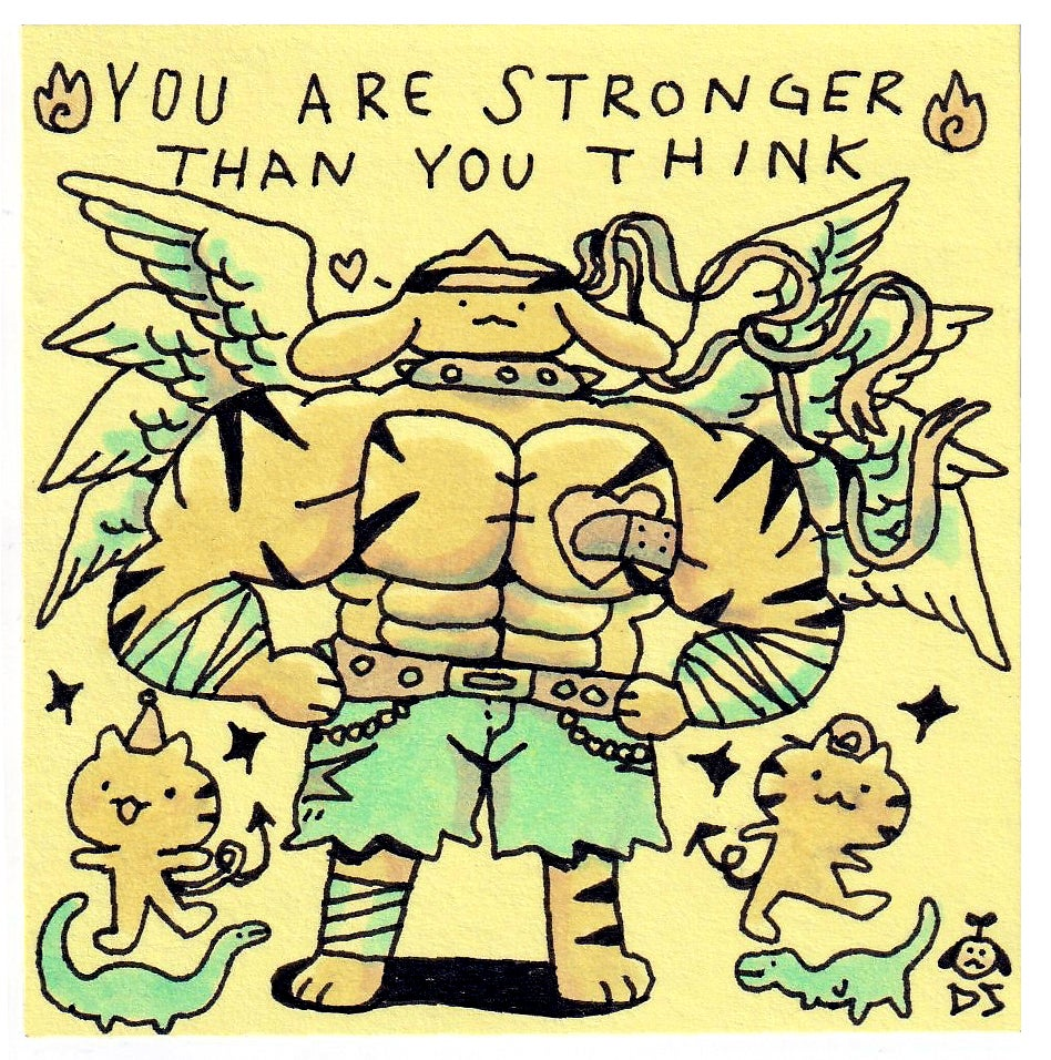 Image of You Are Stronger Than You Think Print