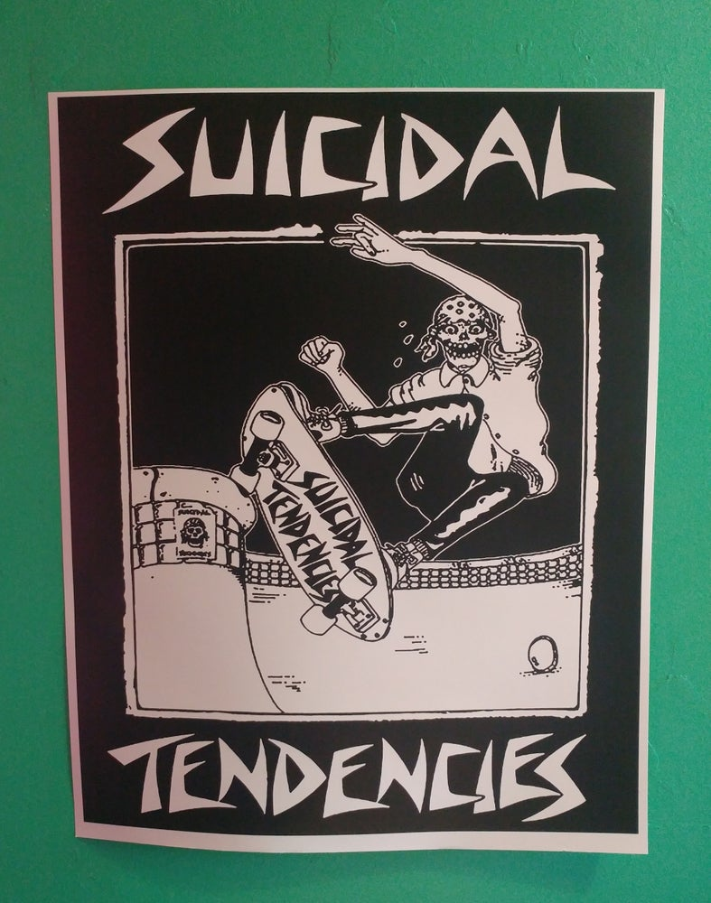 Image of Suicidal Tendencies skate poster 22x28