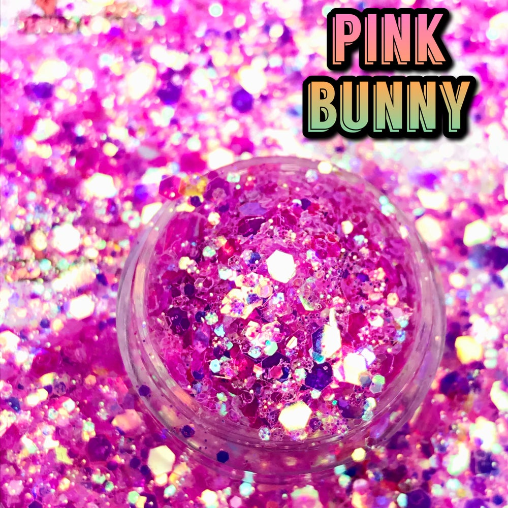 Image of LOOSE GLITTER ✨ PINK BUNNY✨