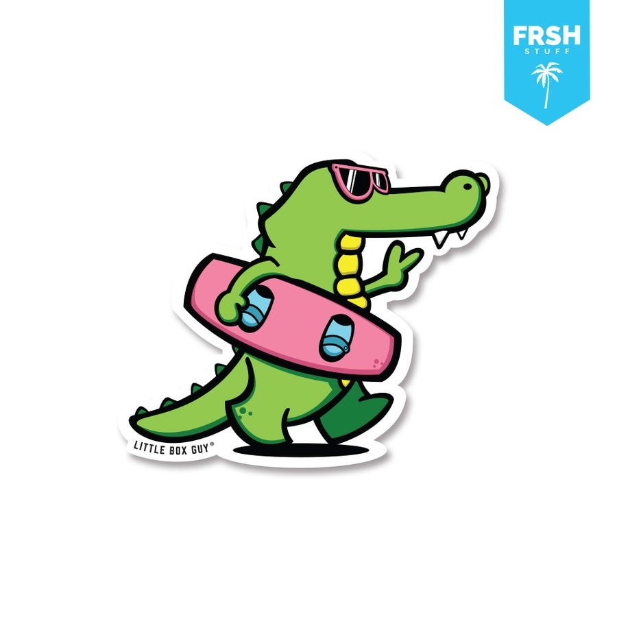 Image of GatorWake (Die-Cut Sticker)