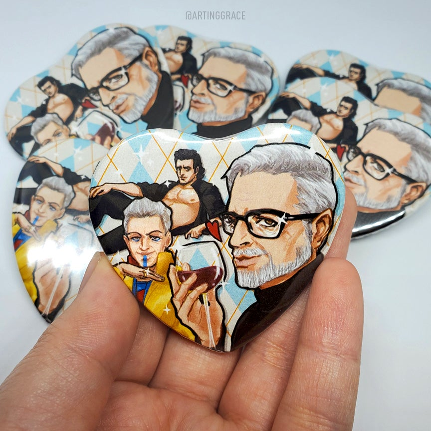Image of Heart Buttons