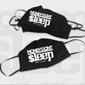 Image of Covid 19 Money Dont Sleep mask