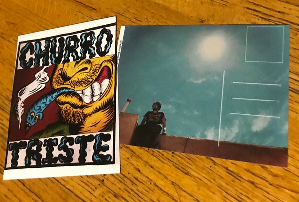 Image of Churro Triste (Postcard and Digital EP)