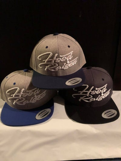 Image of HOOD RAISED SNAPBACKS (LIL D'S GEAR)