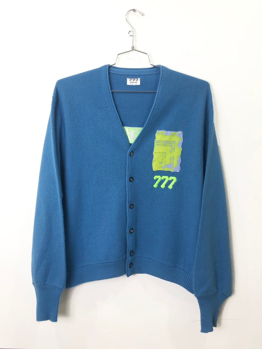 Image of ENERGY CARDIGAN (SKY BLUE)