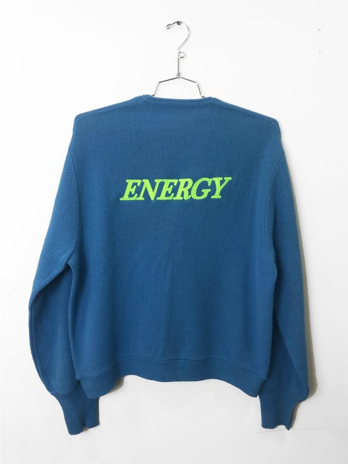 Image of ENERGY CARDIGAN (SKY BLUE)