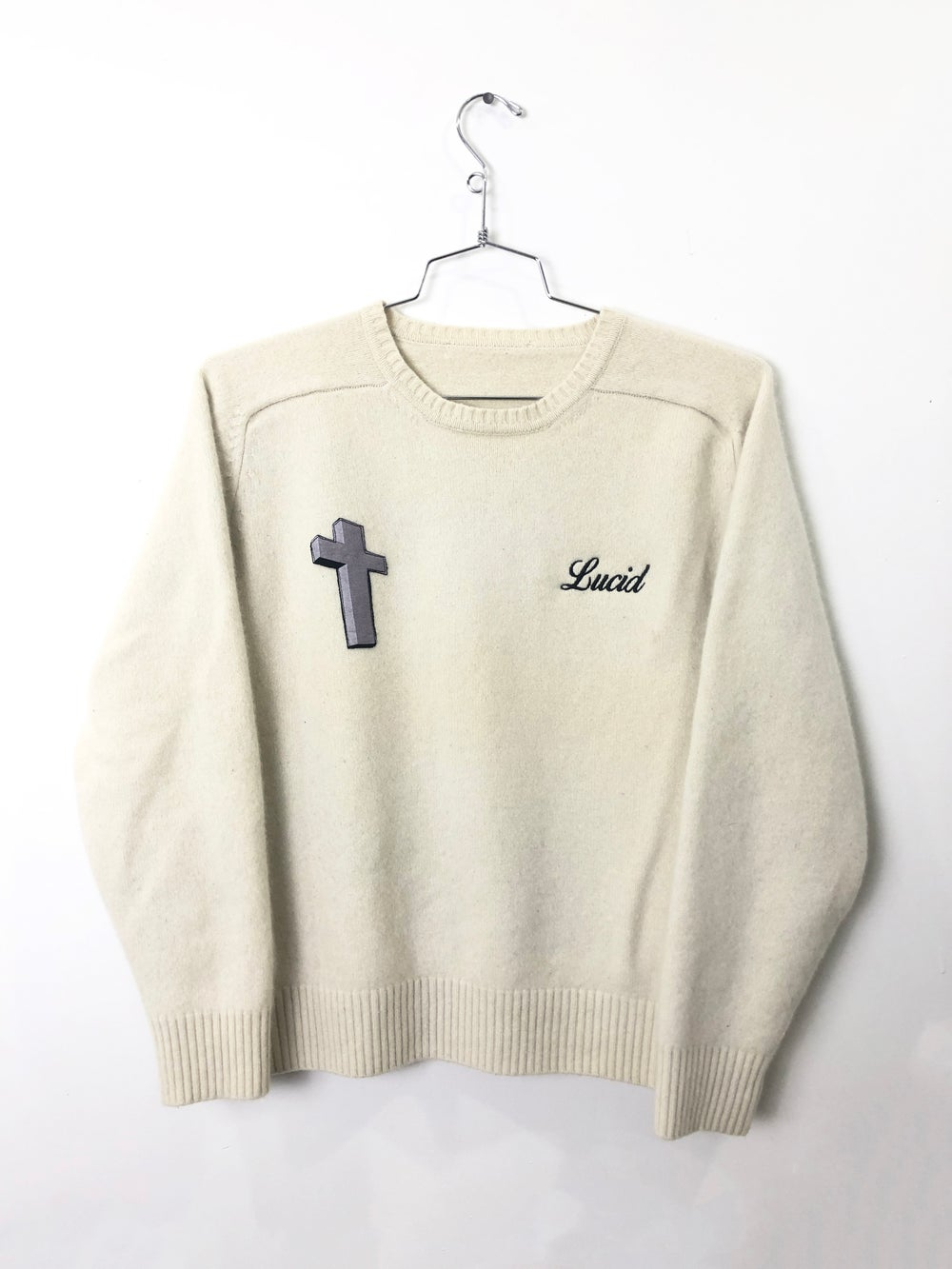 Image of LUCID CASHMERE SWEATER (CREAM)