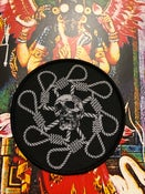 Image of Tetragrammacide - Octonoose Skullwheel patch