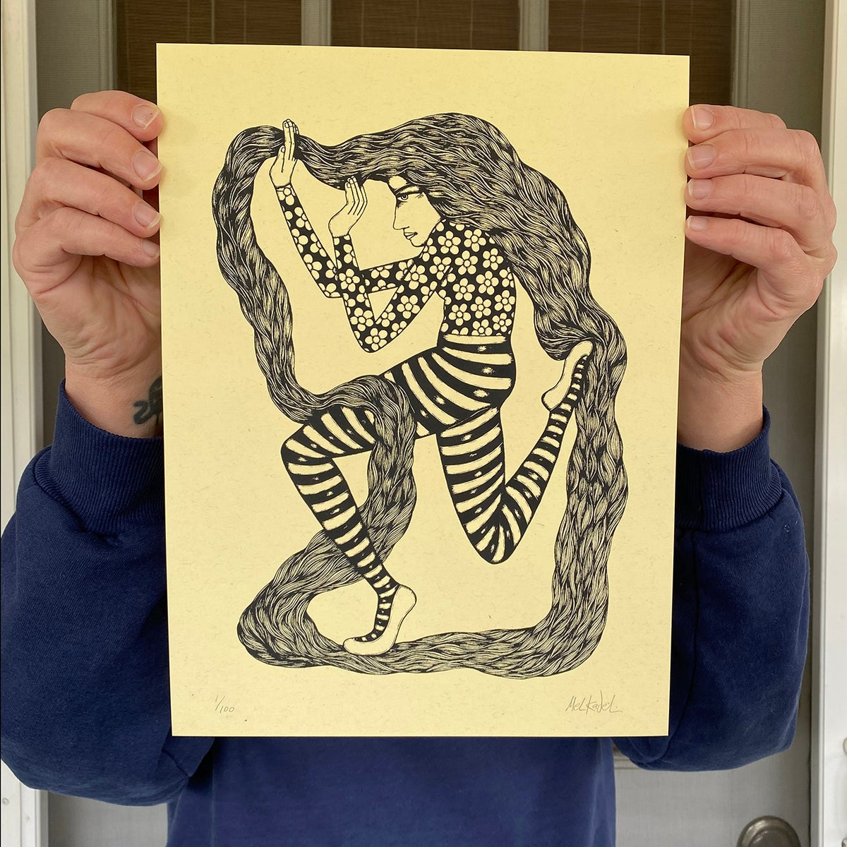 Image of MOTION HEALS - print