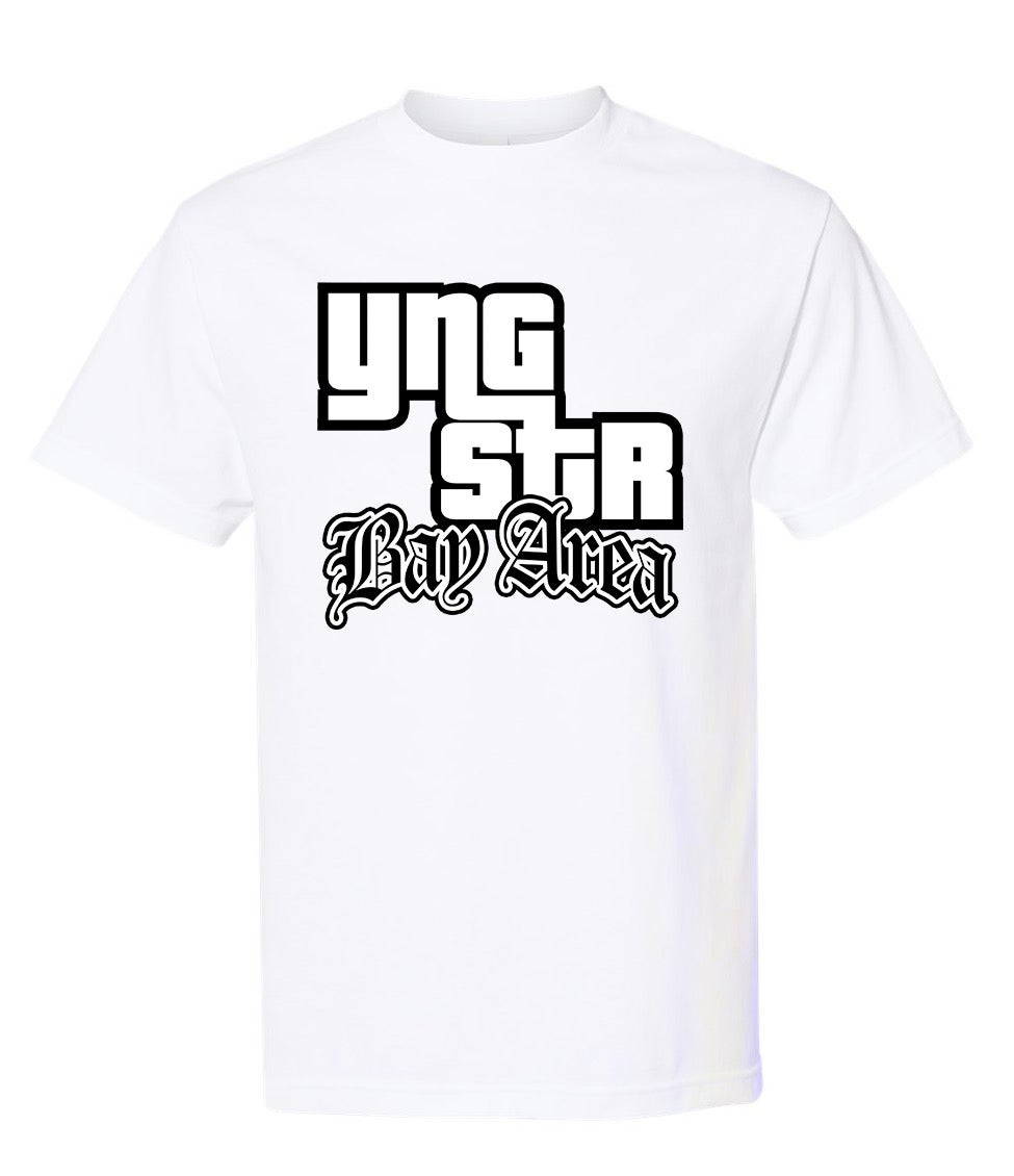 Image of YNGSTR Bay Area (San Andreas) Tee