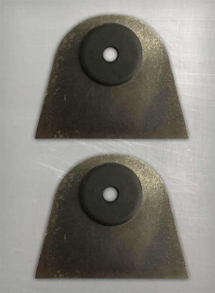 Image of DB Rubber Mount Fat Tabs