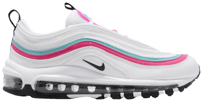 air max 97 white pink and green