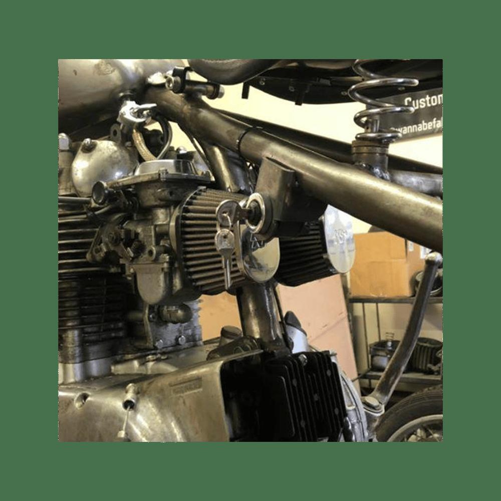 Image of Weld on keyswitch bracket