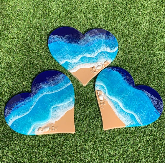 Image of Heart Shaped Wallhanging