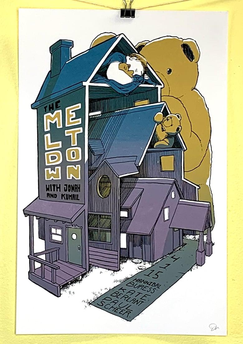 "Image of The Meltdown - ""Teddy Bear House"" - 4.1.15"