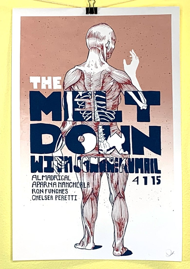 "Image of The Meltdown - ""Meet Skeleton Meat"" - 4.1.15"