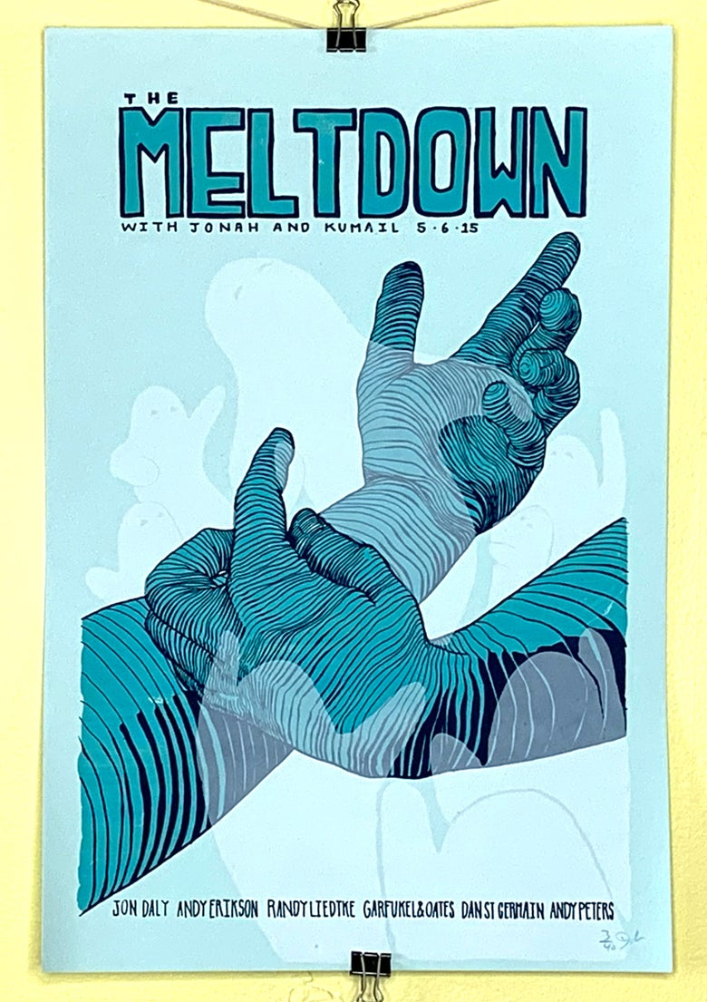 "Image of The Meltdown - ""Ghost Hands"" - 5.6.15"