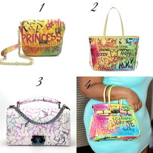 Image of Graffiti Bags II