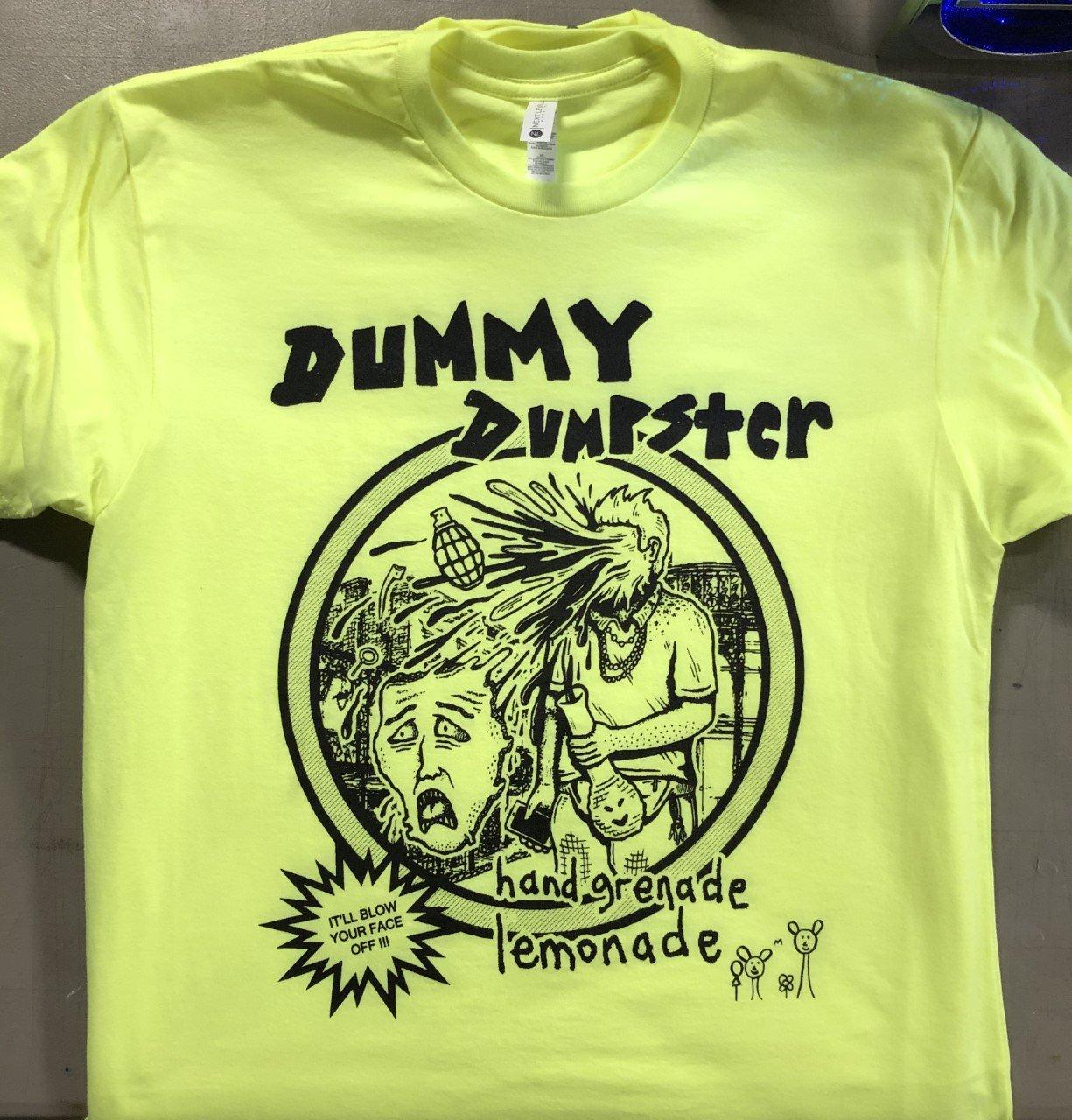 Image of Dummy Dumpster Hand Grenade Shirt