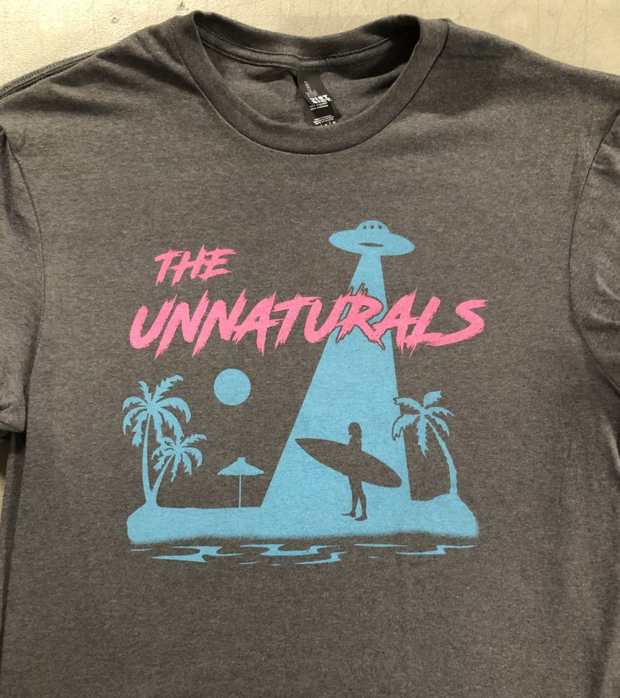 "Image of Unnaturals ""Sci-Fi Beach"" shirt"