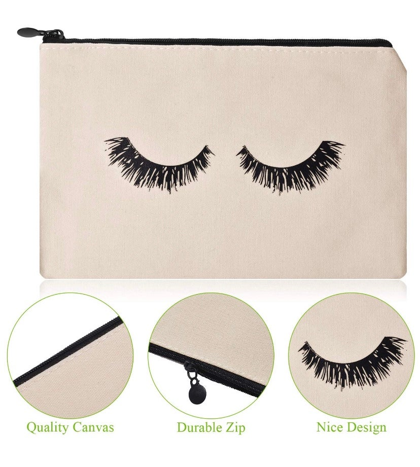 Image of Eyelash Cosmetic Travel Pouch