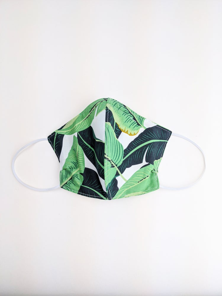 Mask *Green Leaf