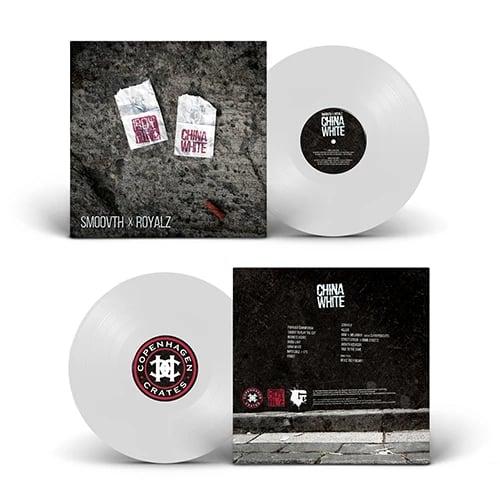 """Image of SmooVth x Royalz - China White 12"""" Vinyl (white)"""