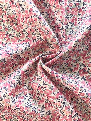 Image of Liberty fabric - Wiltshire Bud pink/grå