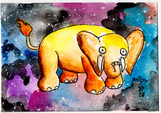 Image of Space Elephant