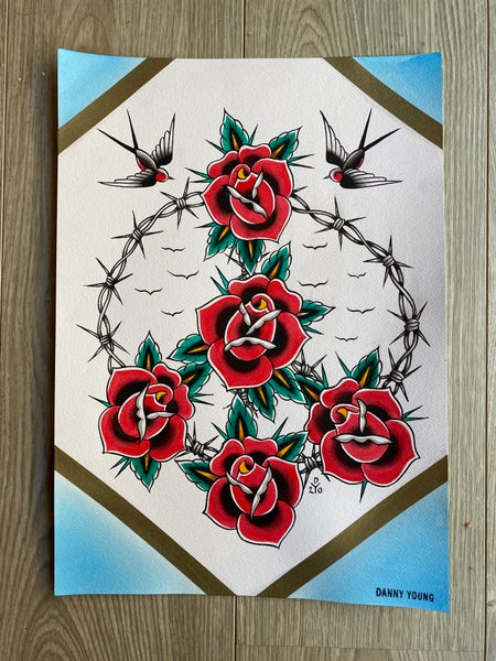 Image of Peace wreath by Danny