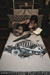A MURDER OF CROWS: Afterlife Souvenir woven blanket