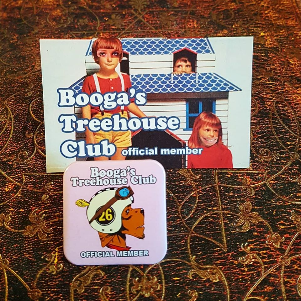 Image of TANK GIRL POSTER MAGAZINE #12 with BOOGA'S TREEHOUSE CLUB MEMBERSHIP - HAND SIGNED